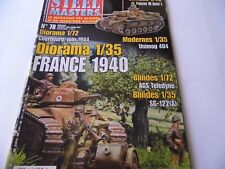 STEEL MASTERS ISSUE 78  - MILITARY HISTORY WARGAMING MAGAZINE