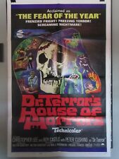 DR TERROR'S HOUSE OF HORRORS 1-sheet, Peter Cushing, Christopher Lee, Amicus