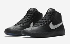 Nike SB Bruin Hi Leather UK Size 5 Women's Trainers Black Shoes EUR 38.5
