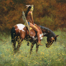 """""""COLOR OF SUN"""" LIMITED EDITION PRINT BY HOWARD TERPNING"""