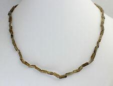 Labradorit  Kette Edelsteinenkette,45cm Lang,Quader,Halskette,Schmuck,Collier