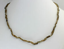 Labradorite Necklace Gemstone Necklace,45cm Long, Cuboid, Necklace, Jewelry,