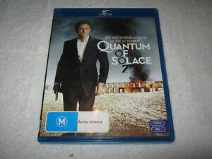 Quantum of Solace - Daniel Craig - James Bond 007 - Blu-Ray - VGC - Region B