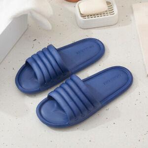 Mens Womens Slippers Indoor Shower Non-Slip Home Bathroom Comfortable Trendy