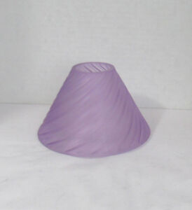 Yankee Candle Jar Shade LAVENDER PEARLESCENT SWIRL Pastel Purple