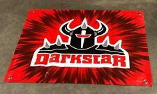 Dark Star skateboard canvas vinyl banner store sign warrior helmet poster
