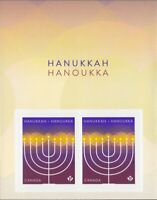 HANUKKAH = booklet front page of 2 stamps Canada 2019 MNH VF