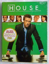Brand New GIFT Ready House Season 4 '07 4-DVD BoxSet Lisa Edelstein Olivia Wilde
