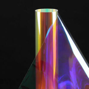 Rainbow Window Film Tint Dichroic Iridescent Decorative Glass sticker HOHOFILM
