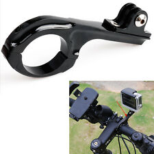 Bike Motorcycle Handlebar Aluminum Bar Mount Adapter for GoPro Go Pro Hero 2 3 4