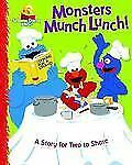 Monsters Munch Lunch!: A Story for Two to Share Sesame Street Start-To-Read Boo