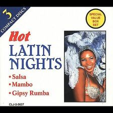 Various Artists : Hot Latin Nights CD