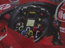 Poster Marlboro Ferrari F2002 2002 #1 Michael Schumacher (GER) Steering wheel