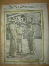 WAR ILLUSTRATED MAG No 210 JULY 6th 1945 GENERAL EISENHOWER GREETED IN LONDON