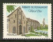 TIMBRE 4392 NEUF XX LUXE - ABBAYE DE ROYAUMONT DANS LE VAL D'OISE