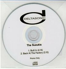 (AY413) The Suzukis, Built In - DJ CD