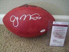 Joe Montana Signed AUTOGRAPH Official NFL Wilson Football JSA