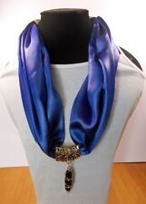 Satin Patternless Scarf Scarves & Wraps for Women