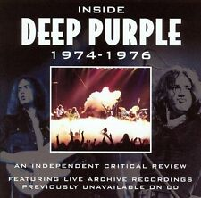Inside Deep Purple 1974-1976: The Definitive Critical Review NEW SEALED CD