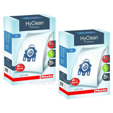 GENUINE Miele S400 S600 S800 S2000 S5000 S8000 GN Hyclean Hoover Bags (x8)