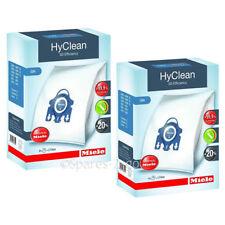 Genuino MIELE S400 S600 S800 S2000 S5000 S8000 Gn hyclean Hoover Bolsas (x8)
