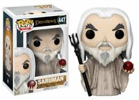 """New Pop Movies: Lord Of The Ring - Saruman 3.75"""" Funko Vinyl COLLECTIBLE"""