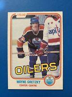 Wayne Gretzky 1981-82 #106 O-Pee-Chee Hockey Card Edmonton Oilers OPC - 3rd Year