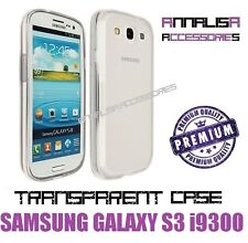 COVER TRASPARENTE SAMSUNG GALAXY S3 i9300 CUSTODIA GEL TPU SLIM TRANSPARENT CASE