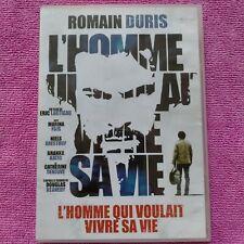 dvd L'Homme qui voulait vivre sa vie avec Romain Duris et Marina Foïs