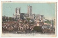 Lincoln Cathedral From South West 1904 Postcard Blum & Degen 099c