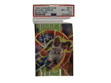 1995-96 Stadium Club Michael Jordan Beam Team Die Cut SSP PSA 8.5! Super Rare*