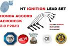 FOR HONDA ACCORD AERODECK 2.0 F20Z3 HT IGNITION LEADS SET NEW 32704-P03-000