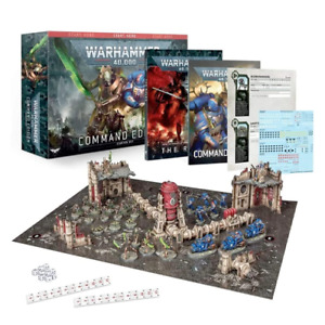 Warhammer 40K Command Edition Space Marines & Necrons Starter Set