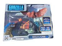 JAKKS Pacific Godzilla King of The Monsters & King RODAN Toy Figure Set NIP