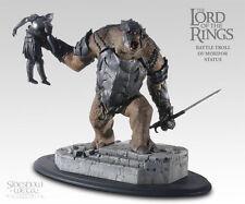 LOTR: Sideshow Weta: BATTLE TROLL OF MORDOR statue - RARE (sauron/gandalf)