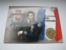 blister 2 zł. książę Józef Poniatowski