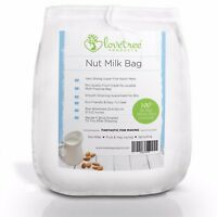 Lovetree Products Nut Milk Bag - Premium Quality Almond Milk Strainer