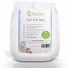 Lovetree Products Nut Milk Bag - Premium Quality Almond Milk Strainer