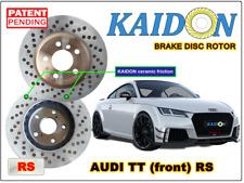 "AUDI TT disc rotor KAIDON (front) type ""RS"" spec"