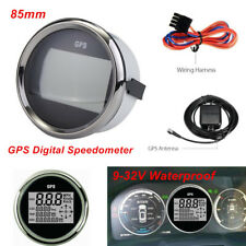 9-32V 85mm Waterproof GPS Digital Speedometer Odometer Gauge Car Truck Marine 1x