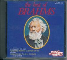 The Best of Brahms Hungarian Dances Academic Festival Overture etc