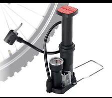 CRIVIT mini pompe à pied-tous PURPOSE pneus boules airbeds double pompe tête-neuf