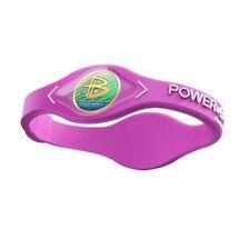 Authentic Power Balance Silicone Wristband - Pink/White - Medium