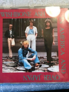 Wishbone Ash- In America and over Japan, live