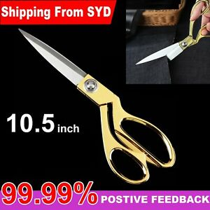 10.5'' Scissors Tailor Dressmaking Sewing Cutting Trimming Fabric Cutting Shear