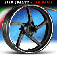 Adesivi moto TRK 502X Benelli - strisce RACING11 cerchi ruote stickers wheels