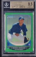 BGS 9.5 w/10 MIGUEL ANDUJAR 2013 Bowman Chrome GREEN REFRACTOR RC RARE GEM MINT