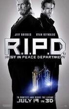R.I.P.D. - REST IN PEACE DEPARTMENT- 2013 Orig 27x40 ADV Movie Poster- J.BRIDGES