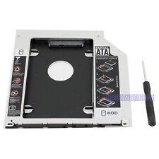 Apple Macbook Pro/Unibody Caddy Optibay 2nd HDD/SSD SATA Replaces DVD-D 9.5mm UK