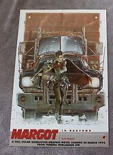 Margot in Badtown 1992 Frezzato Charyn Graphic Novel Tundra GGA PROMO Poster FVF